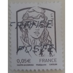 Stamp France: Marianne 5...