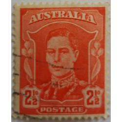 Australian stamp: 2.5 pence
