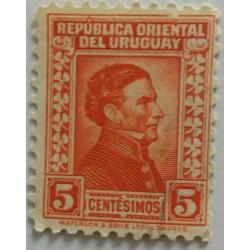 Timbre Uruguay : 5 centimes
