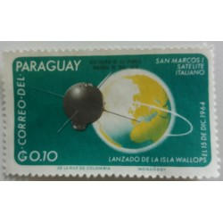 Paraguay stamp: 0.1 G...