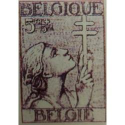 Belgian stamp: 5 FR Belgian