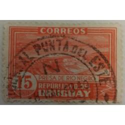 Uruguay Stamp: 15 p Rio...