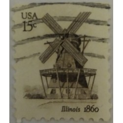 Stamp USA: 15 Cents...
