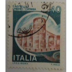 Stamp Italy: 40 Cents...