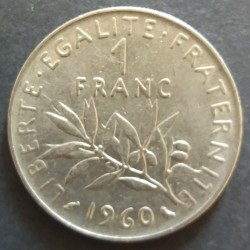 Piece France: 1 Franc 1960