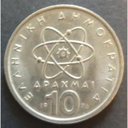 Greece coin : 10 Apaxmai 1976