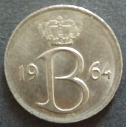 Piece Belgium: 25 cents...