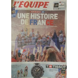 Journal L'Equipe France...