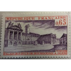 Stamp France: 65 centimes...