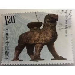 China Stamp: 1.2 Yuan Horse...