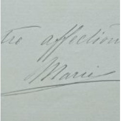 Marie Bonaparte : Signed...