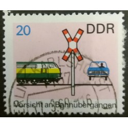 DDR stamp: Attention to the...