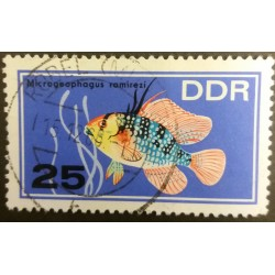 DDR stamp: Fish...