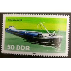 DDR Stamp: 50 Pfennig Motor...