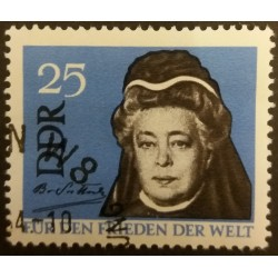 DDR stamp: Peace on the...