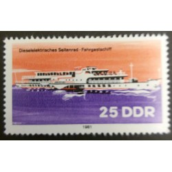 DDR stamp: Diesel electric...