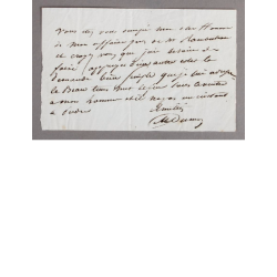 Alexandre Dumas - Billet...
