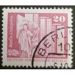 DDR stamp: Lenin Square 20...