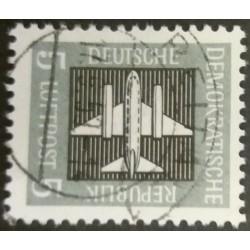 Sello DDR : 5 Pfennig Air...