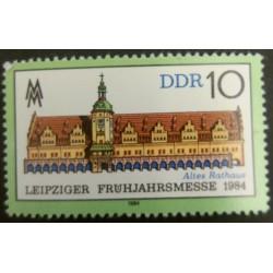 Stamp DDR: Leipzig Spring...