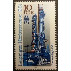 DDR stamp: Leipzig Spring...