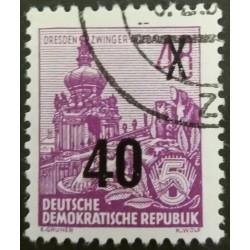GDR stamp: Dresden Zwinger...