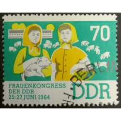 GDR stamp: Women's Congress...