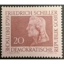 GDR stamp: Friedrich...