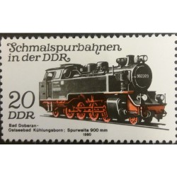 GDR stamp: Railway 20...