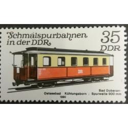 GDR stamp: Railway 35...