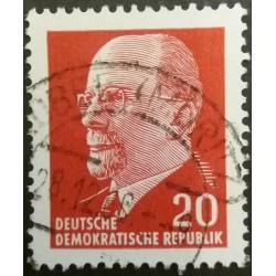 Timbro della GDR: Walter...