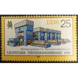 Timbro della GDR: Leipzig...