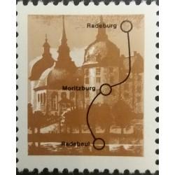 GDR stamp: Radeburg line...