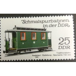 GDR Stamp: Tradition Wagon...