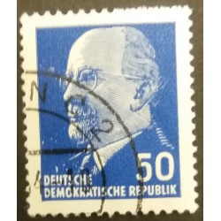 GDR stamp: Walter Ulbricht...