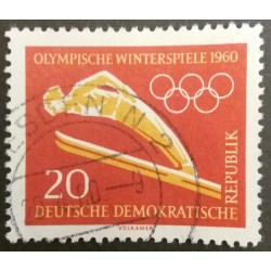 GDR stamp: Winter Olympics...