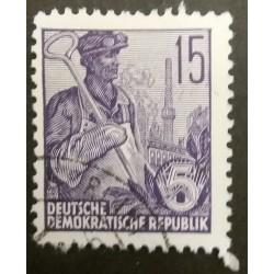 DDR-Briefmarke:...