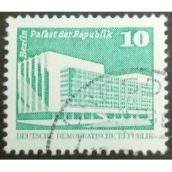 GDR stamp: Berlin Palace of...