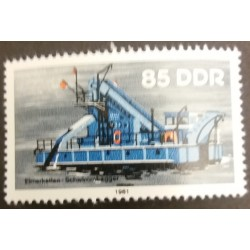 GDR stamp: Dessablement 85...