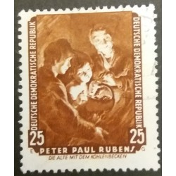 GDR stamp: Peter Paul...