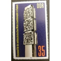GDR Stamp: Antifacist...