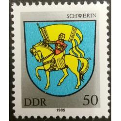 Timbre RDA : Schwerin 50...