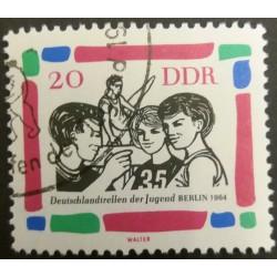 Timbro della GDR: Berlino...