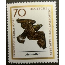 GDR stamp: Golden Eagle 70...