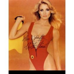 Heather Thomas : Signed photo