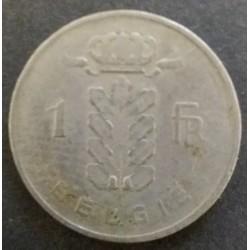 Belgium coins: 1 Belgian...