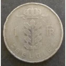 Belgium coin: 1 Belgian...