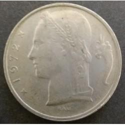 Moneda belga: 5 francos...