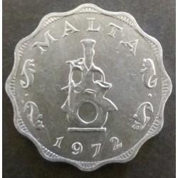 Maltese coins: 5 Mils 1972