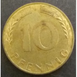 Coin Germany : 10 Pfennig 1969